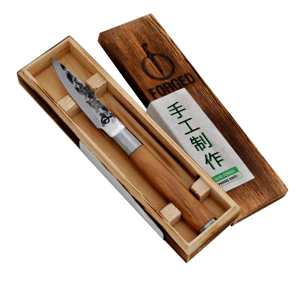 Forged Olive Schälmesser
