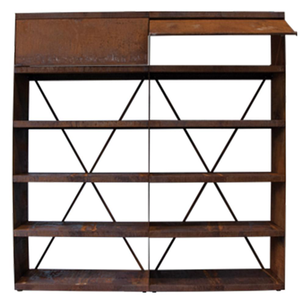 OFYR Wood Storeage Corten 200
