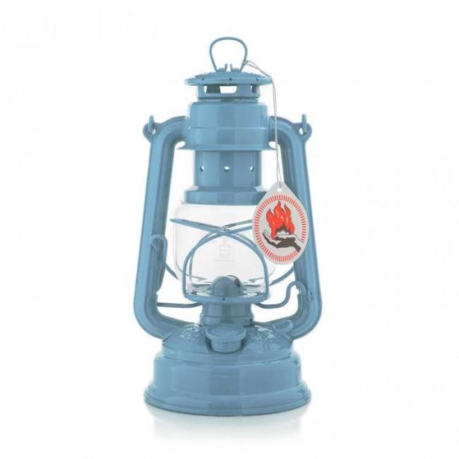Sturmlaterne 276 Pastellblau Feuerhand