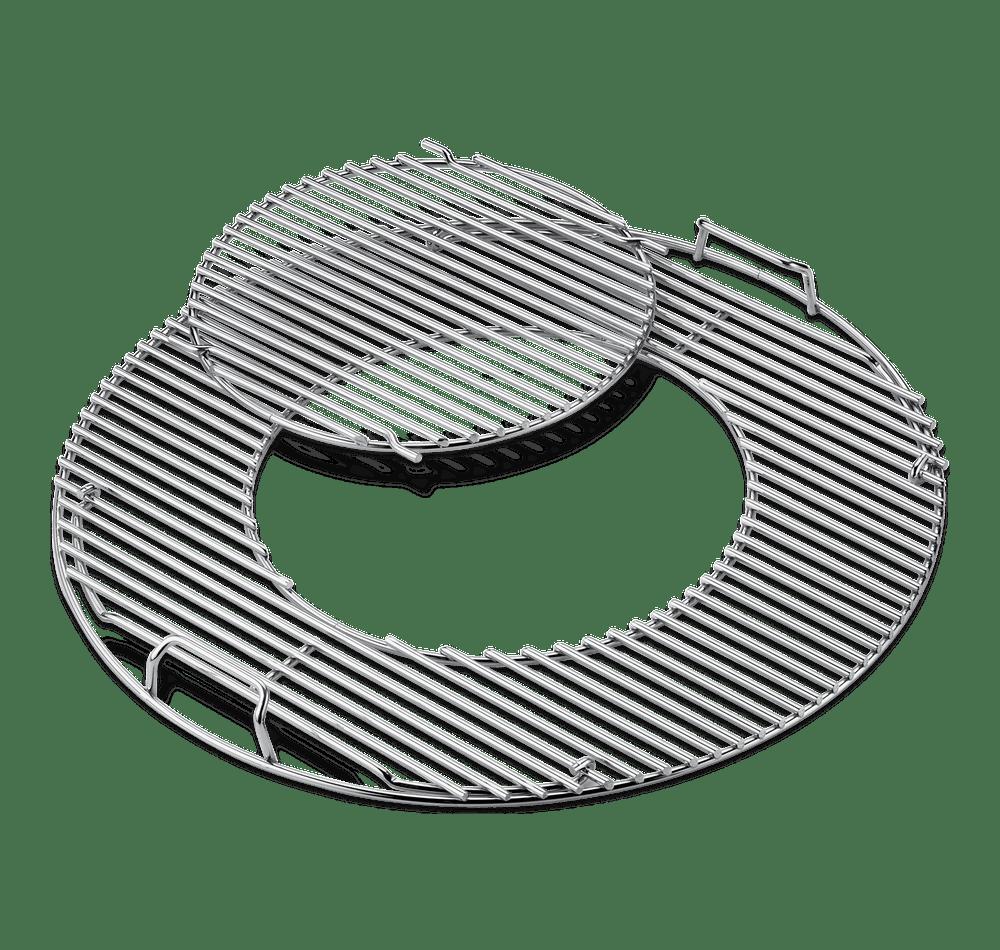 Grillrost-Einsatz - Gourmet BBQ System - Edelstahl, für Holzkohlegrills mit 57 cm