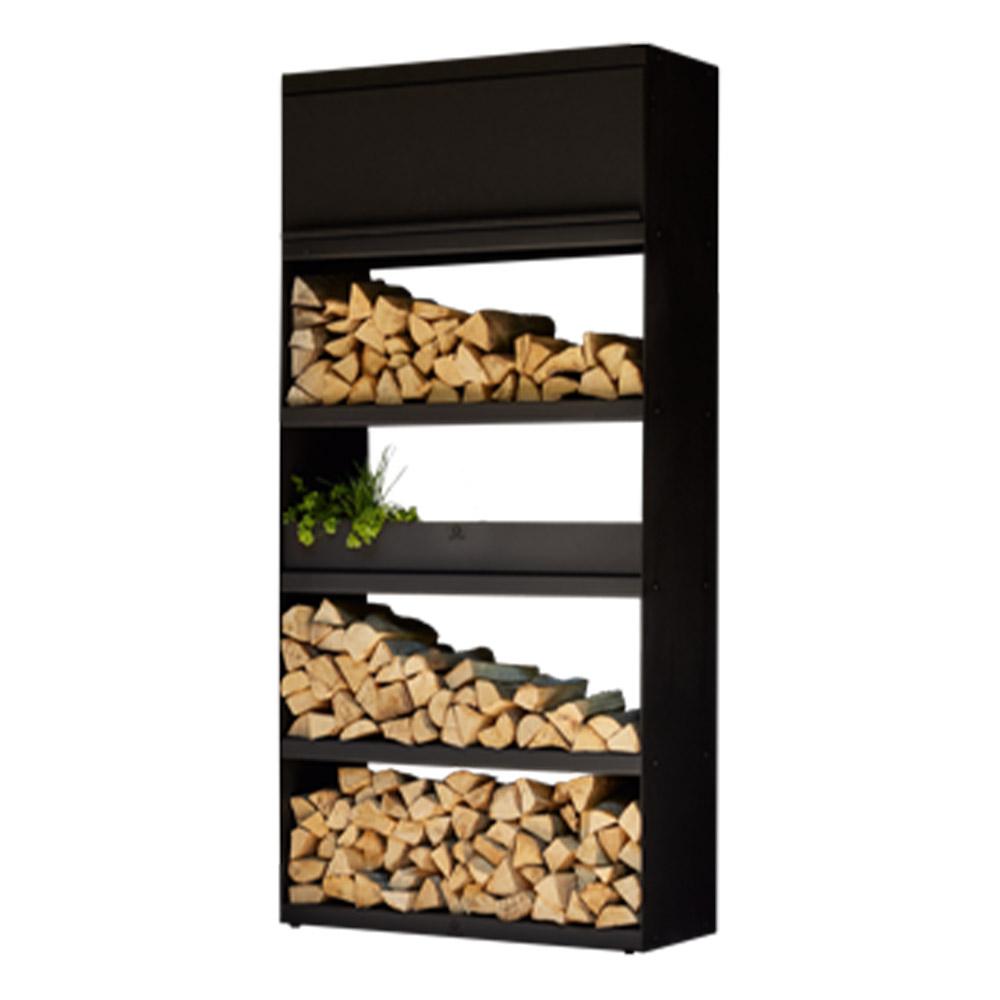 OFYR Wood Storeage Schwarz 100