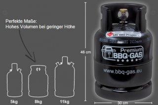 BBQ Gas 11 Kg Flasche OHNE Füllung