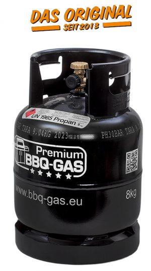 BBQ Gas 8 Kg Flasche OHNE Füllung