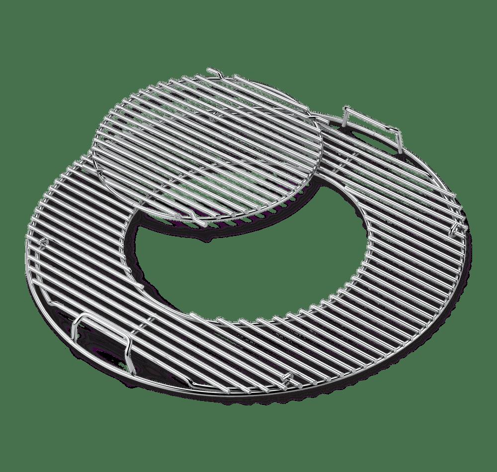 Grillrost-Einsatz - Gourmet BBQ System - für Holzkohlegrills mit 57 cm
