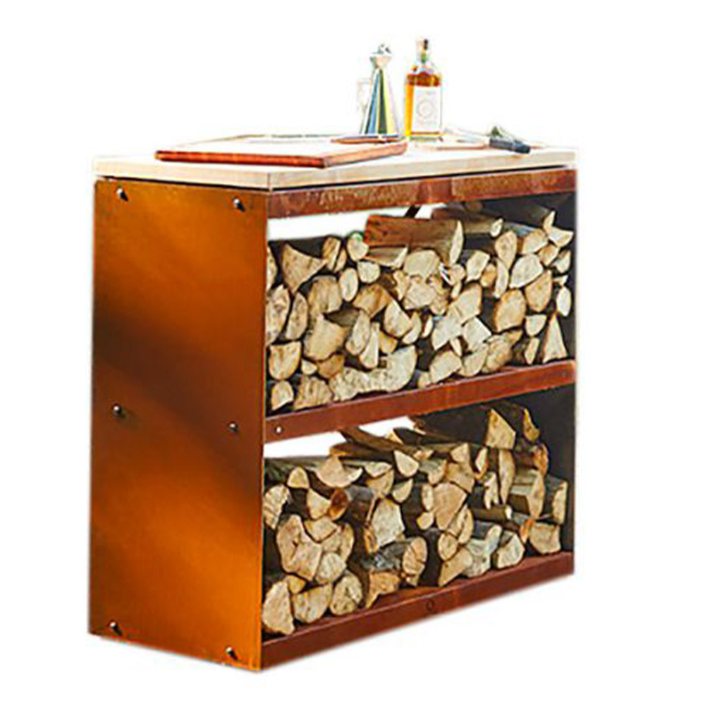 OFYR Wood Storeage Corten Dressoir