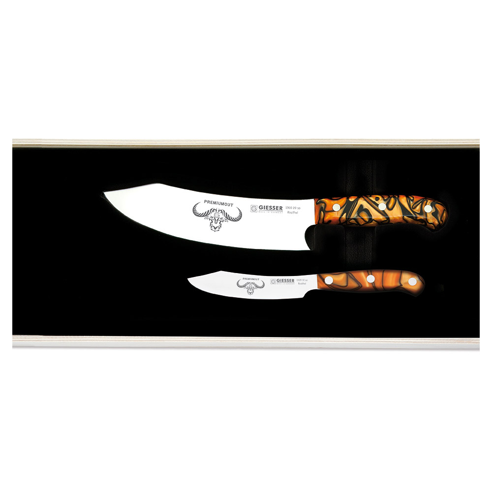 PremiumCut Set Nr. 2 Spicy Orange Messer