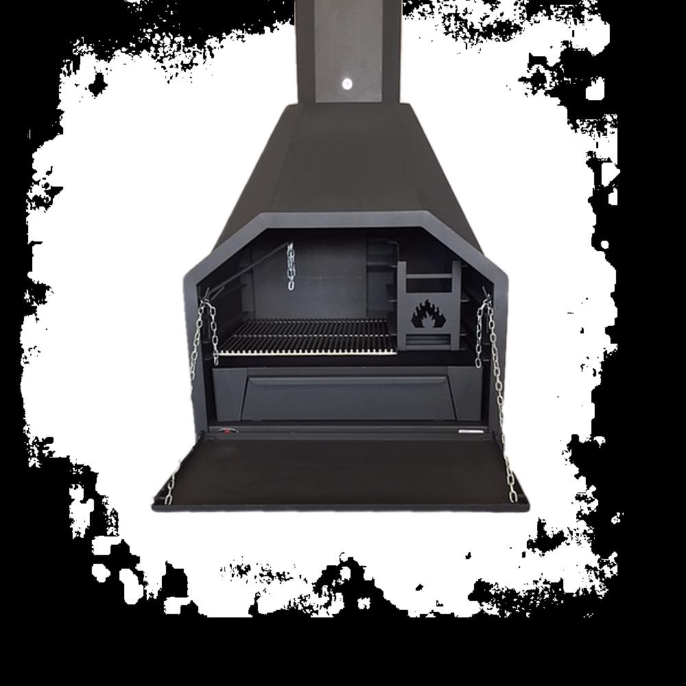 HomeFires Braai 800 ohne Untergestell/Holzlager freistehend