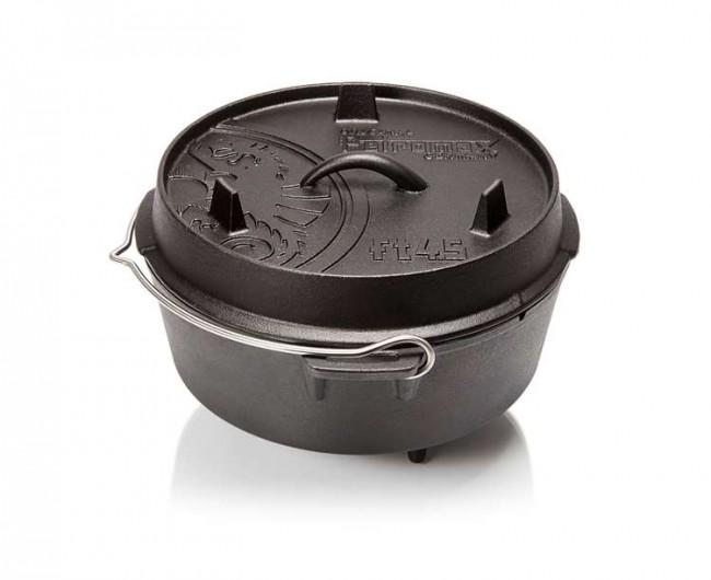Feuertopf ft 4.5 ( Dutch Oven) mit Füßen Petromax