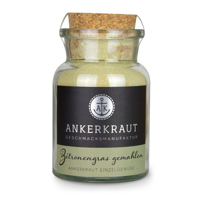 Ankerkraut Zitronengras gemahlen 50g Korkenglas