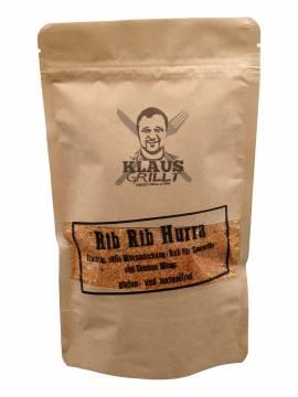 Klaus Rib Rib Hurra Rub 250g Big-Js