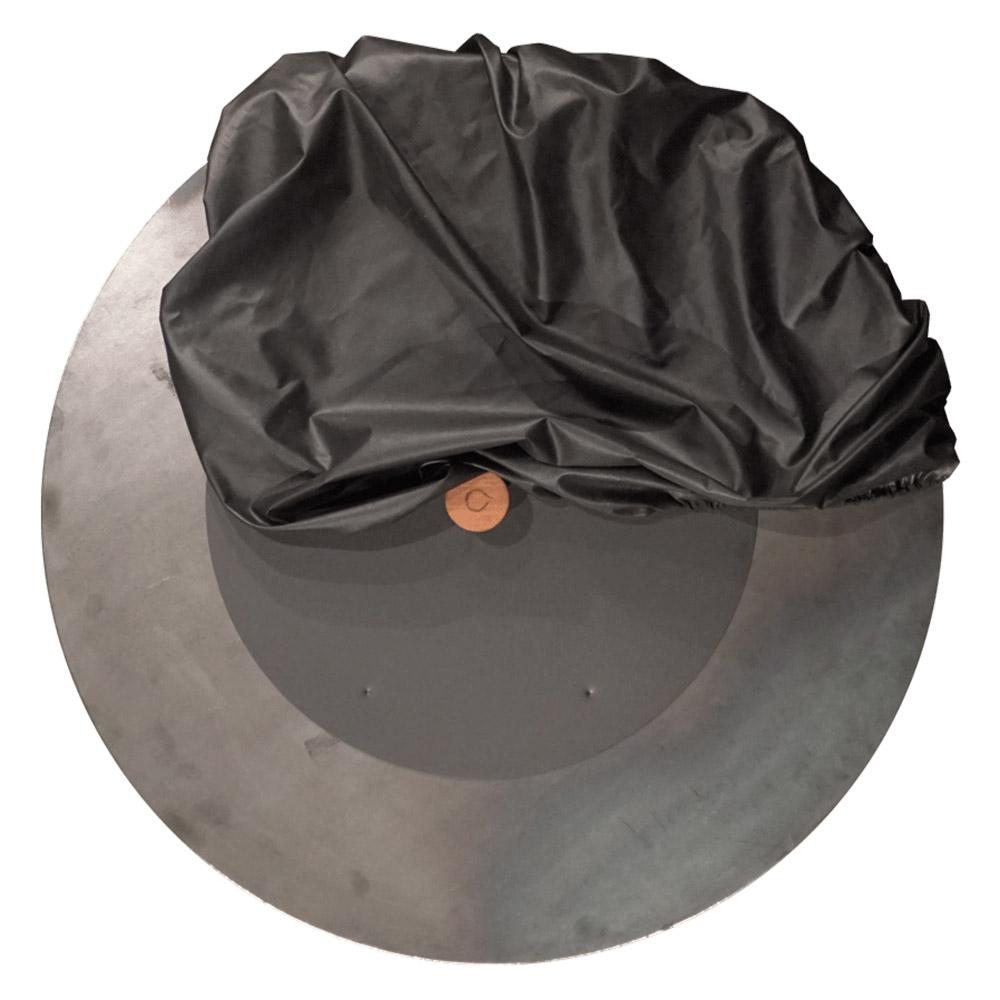 Löschdeckel schwarz und weicher Schutzdeckel schwarz 100 (Ø 100 cm)