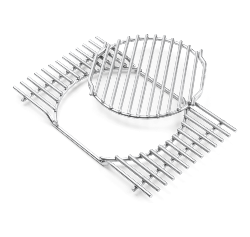 Grillrost-Einsatz - Gourmet BBQ System - Edelstahl, für Summit® 400-/600-Serie